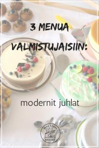 3 menua valmistujaisiin: modernit juhlat